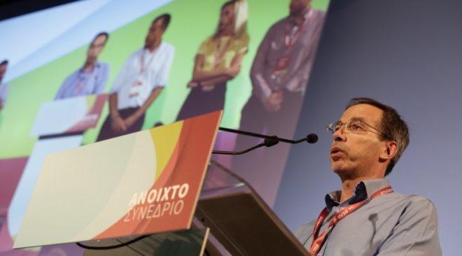 Ο Γιώργος Μαυρωτάς εξελέγη αντιπρόεδρος του Ποταμιού