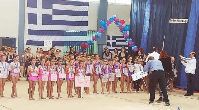 Έφερε μετάλλια η Ελαία από το 4ο Πανελλήνιο Πρωτάθλημα Αισθητικής Ομαδικής Γυμναστικής