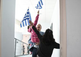 Στην παρέλαση του ΠΙΚΠΑ Βούλας ο Σταύρος Θεοδωράκης