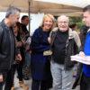 Περιοδεία της Ρένας Δούρου σε Βάρκιζα, Βουλιαγμένη και Βούλα