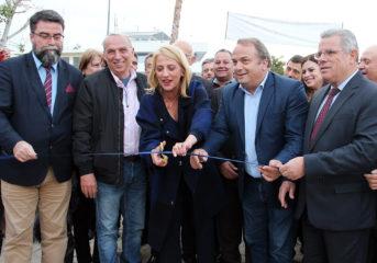 Δούρου - Κωνσταντέλλος εγκαινίασαν την Ανθοκομική Έκθεση Βάρκιζας