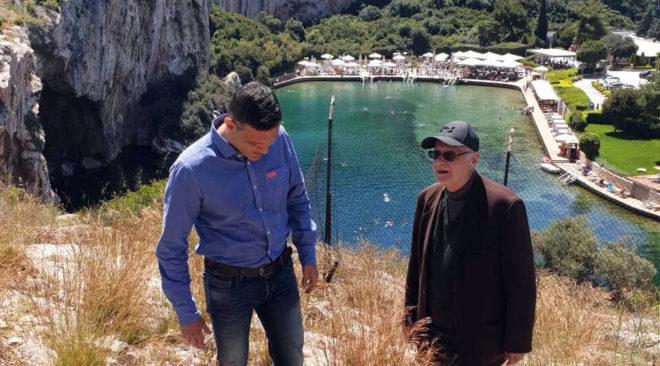 Ζήτημα Λίμνης Βουλιαγμένης εγείρει ο Κώστας Πασακυριάκος