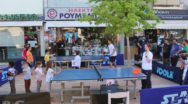 Βούλα, η πόλη που αγαπά το πινγκ πονγκ διοργανώνει πλέον φεστιβάλ για το άθλημα
