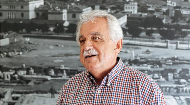 Ο Σταύρος Μπένος στη Βουλιαγμένη για την πολιτιστική κληρονομιά