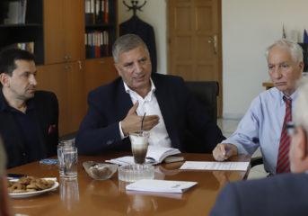 Πατούλης: Προτεραιότητα η αντιπλημμυρική θωράκιση της Αν. Αττικής