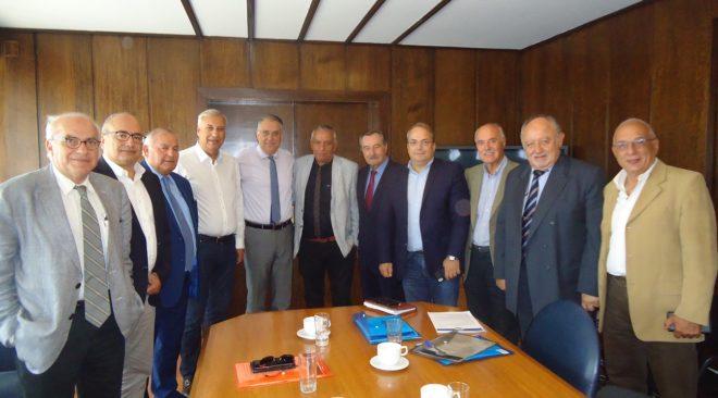 Συνάντηση των Δημάρχων της Αττικής με τον Υπουργό εσωτερικών