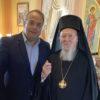 Επίσκεψη με νόημα του Γρηγόρη Κωνσταντέλλου στο Άγιο Όρος