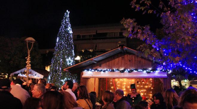 Μύρισε ...Χριστούγεννα σε Βάρη, Βούλα, Βουλιαγμένη (photos)