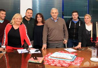 Βουλιαγμένη: Βασιλόπιτα σε οικογενειακό κλίμα για το Τοπικό Συμβούλιο