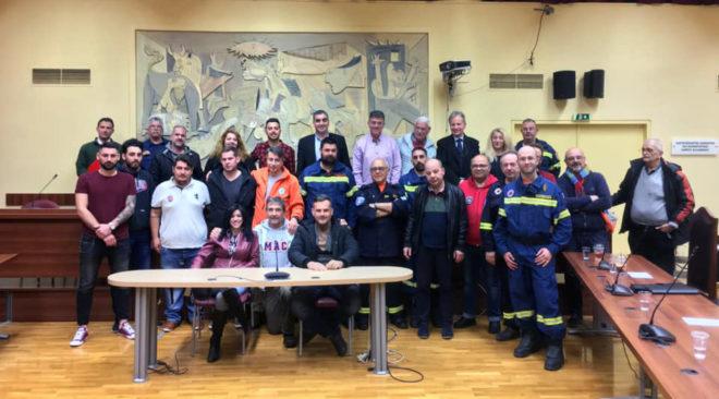Συντονίζονται οι Εθελοντικές Ομάδες Δασοπροστασίας του Υμηττού