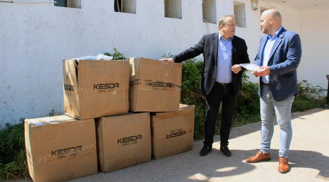 10.000 μάσκες στο Ασκληπιείο από τον Δήμο Βάρης Βούλας Βουλιαγμένης