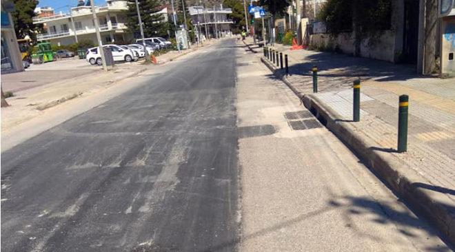 Βάρη: Ολοκληρώθηκε το αντιπλημμυρικό έργο στη Βασ. Κωνσταντίνου