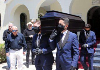 """Τελευταίο """"αντίο"""" στον Βουλιαγμενιώτη Γιώργο Λιαμή"""