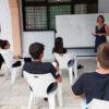 Υπαίθριο μάθημα με ασφάλεια στο Λύκειο Βουλιαγμένης
