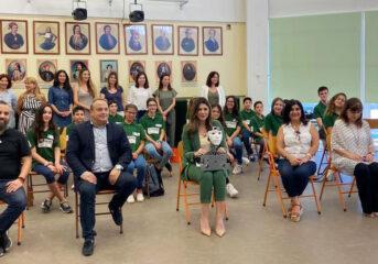 Η υφυπουργός Παιδείας στο 4ο Δημοτικό Σχολείο Βούλας