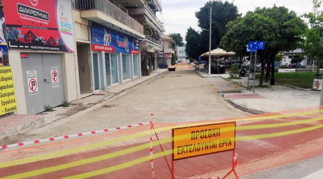 Πεζόδρομο αποκτά η πλατεία Δήμα στη Βάρη