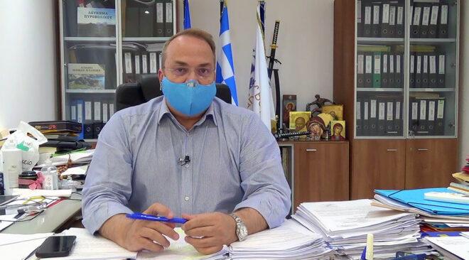 Κωνσταντέλλος: Ο Δήμος κοντά στους πολίτες και στη νέα καραντίνα (video)